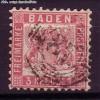 AD Staaten Baden Mi. Nr. 18 o Wappen 3 Kreuzer