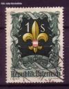 �sterreich Mi. Nr. 966 Pfadfindertreffen 1951 o