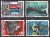 Schweiz Mi. Nr. 637 - 640 Jahresereignisse 1957 o