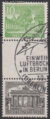 Zusammendruck Berliner Bauten 1949 Zd - Mi. SZ 1 B o