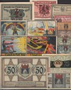 Lot Notgeld 15 St�ck Th�ringen ( 66 )