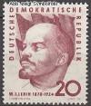 DDR Mi. Nr. 762 ** 90. Geb. Wladimir I. Lenin