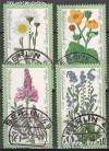 Berlin 1977 Mi. Nr. 556 - 559 o Wiesenblumen
