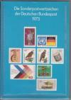 Jahreszusammenstellung der Deutschen Bundespost 1973