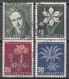 Schweiz Mi. Nr. 475 - 478 Pro Juventute 1946 o