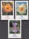 Bund Mi. Nr. 2505 - 2507 ** Blumen VIII