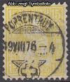 Schweiz Mi. Nr. 31 Sitzende Helvetia 15 C o