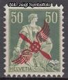 Schweiz Mi. Nr. 145 Freim. mit Aufdruck **