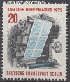 Berlin 1972 Mi. Nr. 439 ** Tag der Briefmarke
