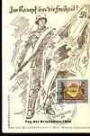 DR Sonderkarte Tag der Briefmarke 1943 ( K 13 )