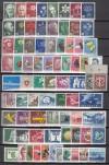 Schweiz Super Lot ** kompletter Ausgaben 1945 - 1955 ( S 657 )