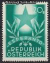 �sterreich Mi. Nr. 935 Esperantokongre� 1949 **