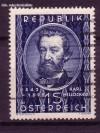 �sterreich Mi. Nr. 947 Karl Mill�cker 1949 o