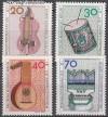 Berlin 1973 Mi. Nr. 459 - 462 ** Musikinstrumente