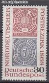 Bund Mi. Nr. 569 ** Norddeutscher Postbezirk