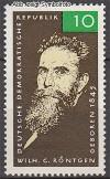 DDR Mi. Nr. 1096 ** Wilhelm R�ntgen