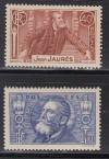 Frankreich Mi. Nr. 324 - 325 ** Jaures