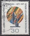 Berlin 1971 Mi. Nr. 416 o 100 Jahre Materialpr�fung
