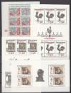 Tschechoslowakei Sch�nes Lot von 4 Kleinbogen ( S 1004 )