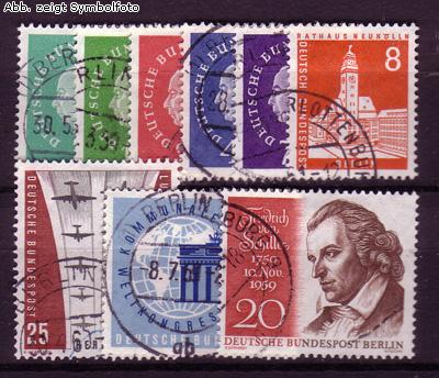 briefmarken berlin 1959 jahrgang gestempelt 1959 berlin briefmarken jahrgang gestempelt. Black Bedroom Furniture Sets. Home Design Ideas