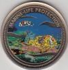 Palau 1$ Farbmünze 2003  Anemonenfisch