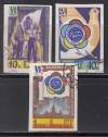 Sowjetunion Mi. Nr. 1945 - 1949 B o geschnitten Weltfestspiele 1957