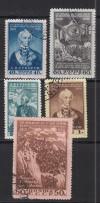 Sowjetunion Mi. Nr. 1465 - 1469 o  Todestag Suworow