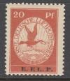DR Mi. Nr. VI **  Flugpost 1912 E.EL.P.