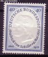 Bund Mi. Nr. 210 ** Friedrich von Schiller