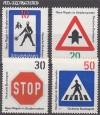 Bund Mi. Nr. 665 - 668 ** Regeln Stra�enverkehr
