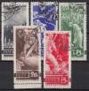 Sowjetunion Mi. Nr. 494 - 498 o Ausbruch 1. Weltkrieg