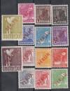 Berlin Mi. Nr. 21 - 34 ** Rotaufdruck alle Werte geprüft Schnäppchen