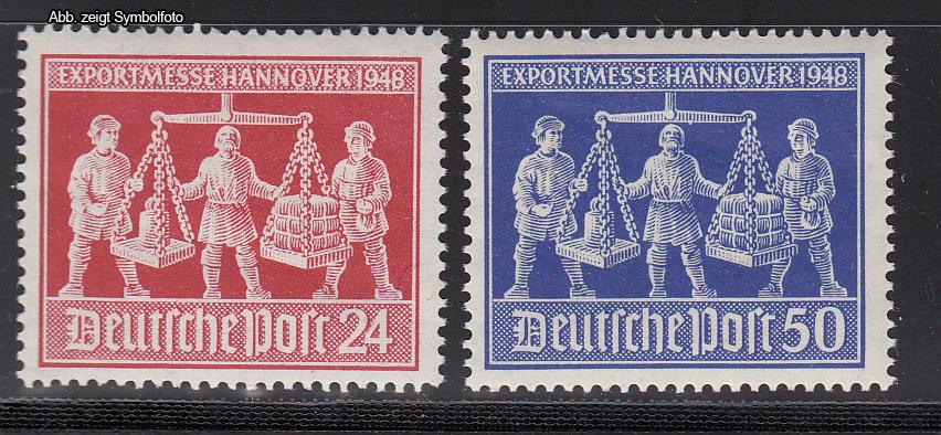 Briefmarken Gemeinschaftsausgaben 1947 Michel Nr 969 970