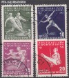 DDR Mi. Nr. 530 - 533 o Turn- u. Sportfest