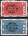 DDR Mi. Nr. 1054 - 1055 ** Erste Internationale