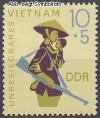 DDR Mi. Nr. 1371 ** Unbesiegbares Vietnam