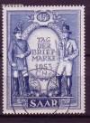 Saarland Mi. Nr. 342 o Tag der Briefmarke 1953