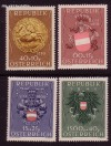 Österreich Mi. Nr. 937 - 940 Heimkehrerfürsorge 1949 **