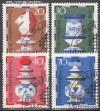 Berlin 1972 Mi. Nr. 435 - 438 o Schachfiguren