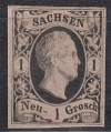 AD Sachsen Mi. Nr. 4 II a 1 Ngr *
