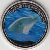 Palau 1$ Farbm�nze 2004  Delphin