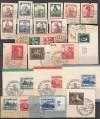 Lot DR bessere Ausgaben auf Briefstücke ( s 2200 )