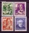 Schweiz Mi. Nr. 266 - 269 Pro Juventute 1933 **