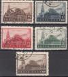 Sowjetunion Mi. Nr. 467 - 471 o Todestag Lenins