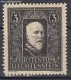 Liechtenstein Mi. Nr. 171  Tod des Fürsten **