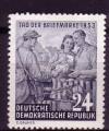DDR Mi. Nr. 396 ** Tag der Briefmarke 1953