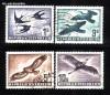Österreich Mi. Nr. 984 - 987 Vögel 1953 o
