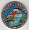 Palau 1$ Farbmünze 2003 Seestern