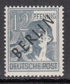 Berlin geprüfte Abart Mi. Nr. 5 x ** dickes Papier