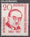 DDR Mi. Nr. 671 ** Otto Nuschke